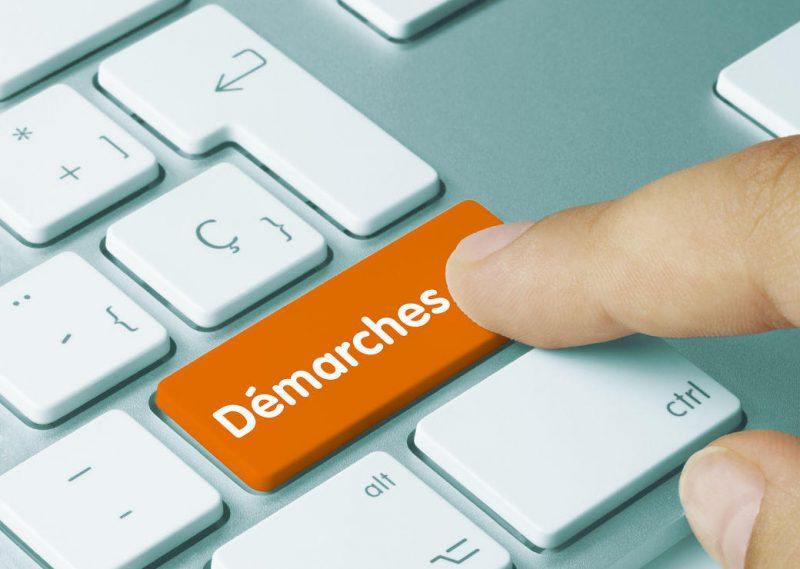 Nouvelles démarches administratives en ligne